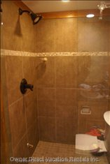 Newly Renovated Shower
