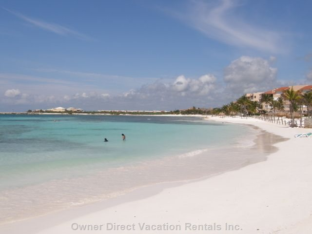 Another Beach in Puerto Aventuras