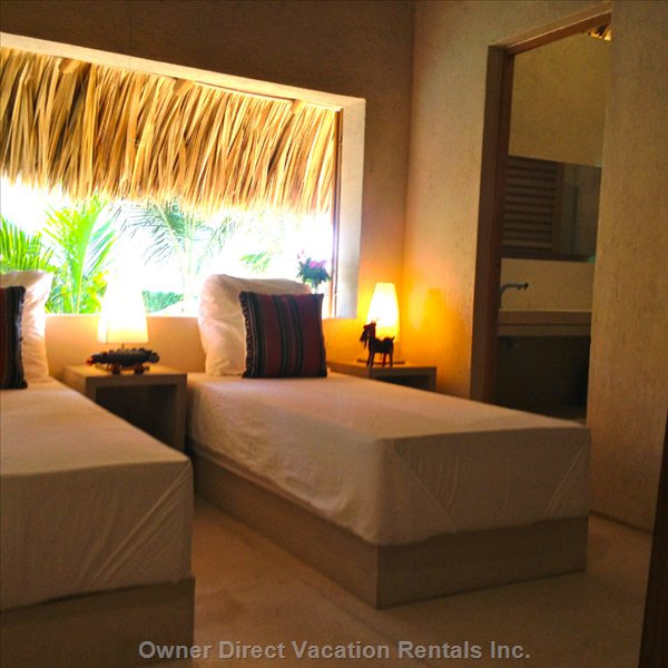 Guesthouse Bedrooms (the Beds Can be Separated Or Joined Together).