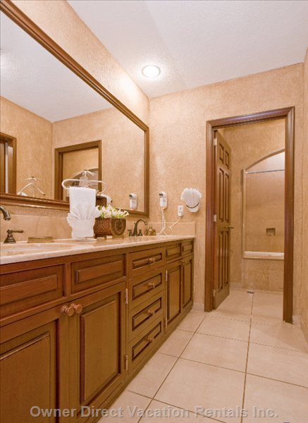 Master Bath with Shower and Jacuzzi