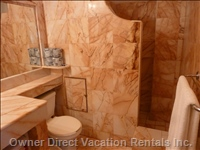 Marble Shower Area