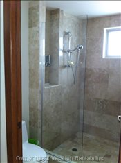 Large En-Suite Shower.