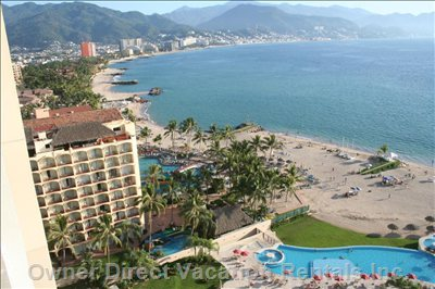 Puerto Vallarta Seen from Terrace