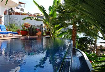 Escape to Romantic Mexico, 5 Bedroom Beachfront Villa with Full Staff