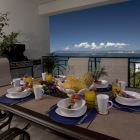 Breakfast on the Dining Balcony, Or Bbq at Dinner! - Spacious Comfortable Seating for 6 on this Balcony, Just beside the Dining Room. Fantastic Bbq for the Chef in the Group!