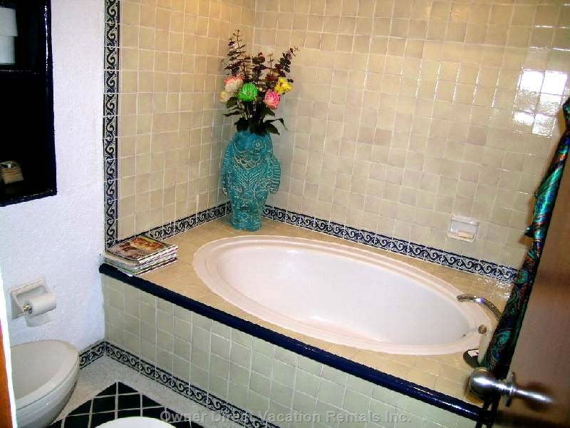 Luxuriate in the Master Tub!