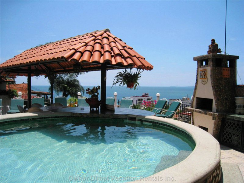 Shared Pool Deck of Casa Anita Building (Shared with Casa Corona Del Mar)