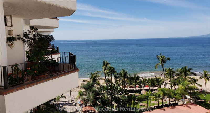 Fantastic Views Overlooking the Ocean from the Balcony, Living Room and Master Bedroom. Enjoy the End of the Hall Privacy