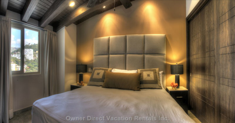 Mountain Facing Designer Bedroom 1