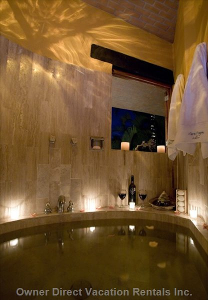 Romantic Soaker Tub