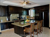 Gourmet Kitchen Full Appointed W/ Top of the Line Appliences