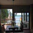 View of Deck from Dining Room