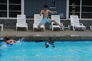 Let the Kids Have Fun in the Club House Pool Open Seasonally