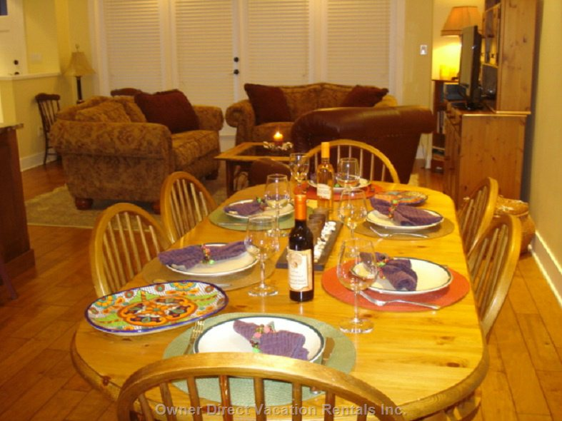 Dining Table Set for Dinner