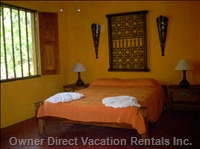 Hotel LA Palapa Ecolodge Resort - Double Bedroom. Similar to, but May Not be Exact.
