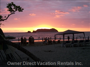 Another Breathtaking Sunset at Manuel Antonio Beach.
