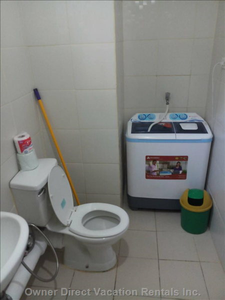 Toilet and Washing Area