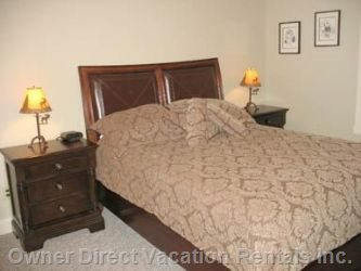 Master Bedroom with Queen Sized Bed