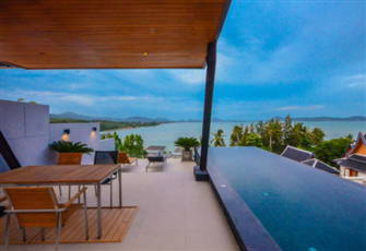 Panorama Sea-View 3br Private Pool Villa