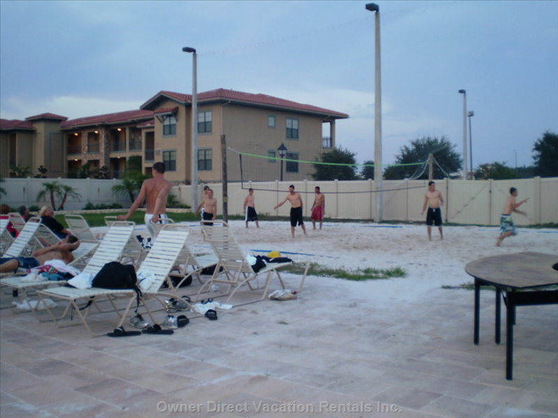 Volley Ball Court