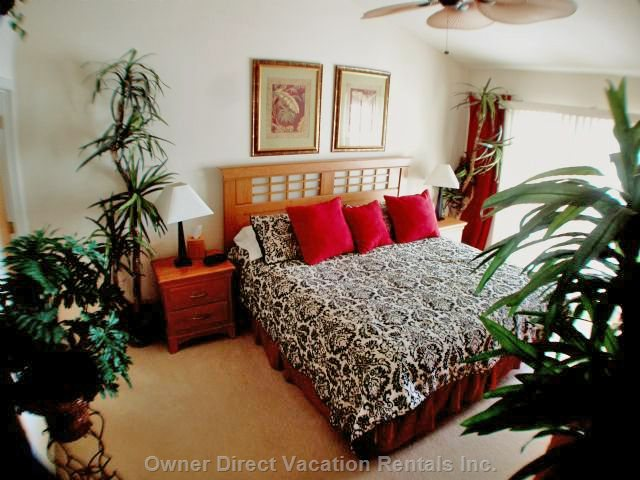 One of Two King Size Master Bedroom Suites