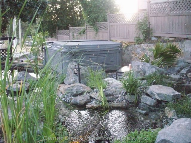 Hot Tub & Water Gardens