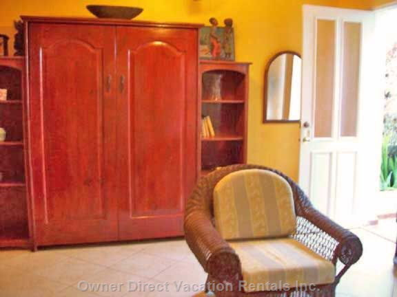 Murphy Bed in Living Room