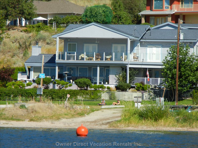 House from Lake - Easy Access to Boat Launch