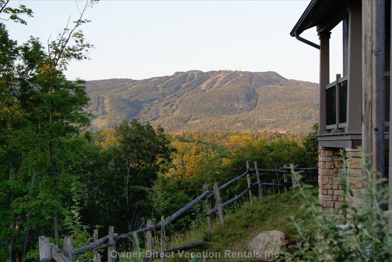 Fall Colours - the Views from Everywhere on the Resort Are Stunning. There is Also a Restaurant on Site.