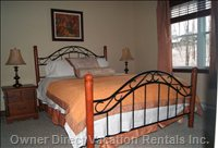 Master Bedroom - has a Cable TV and Radio Alarm Clock.