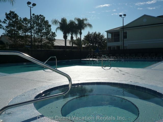 Hot Tub & Heated Pool with Lounge Chairs, Picnic Tables & Umbrellas