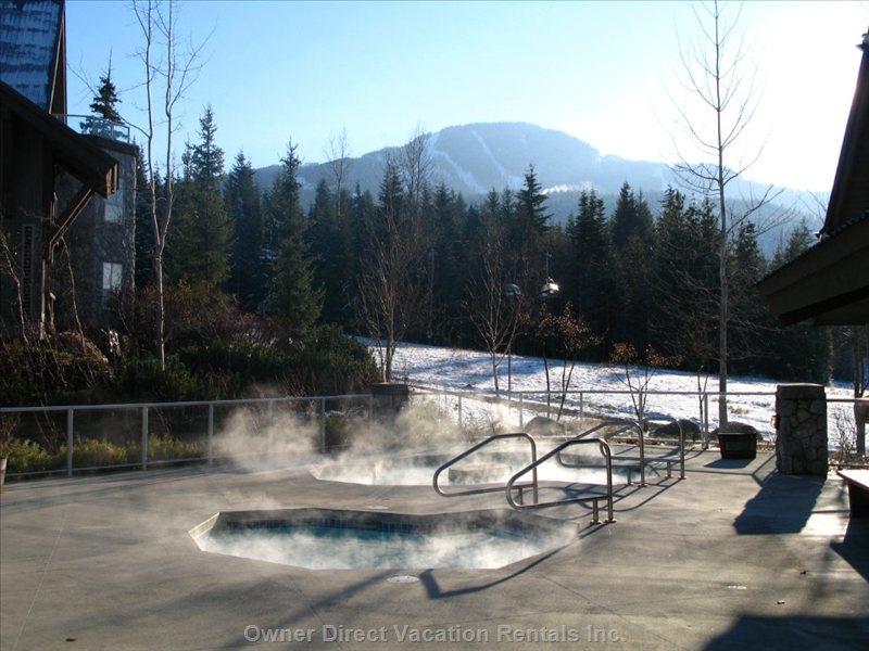 Hot Tubs Next to Slopes