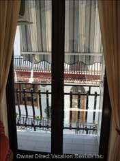 Apartment has Two Private Balconies.