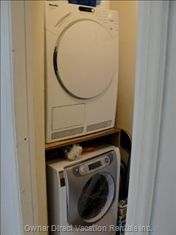 Laundry Room with Washer/Dryer.