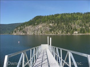 Public Dock and Boat Launch.  2 Minute Walk from Property.