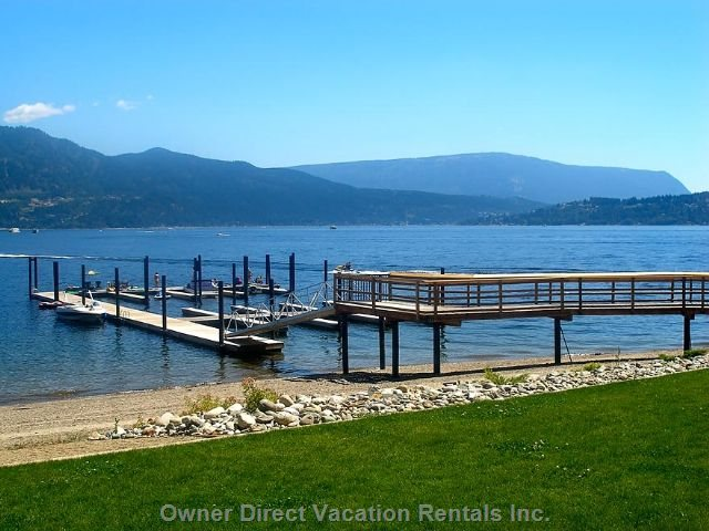 Private Dock Only Steps from your Living Room !!!