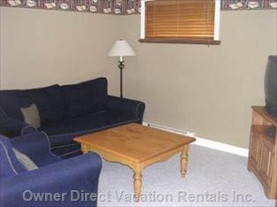 Den Area with TV