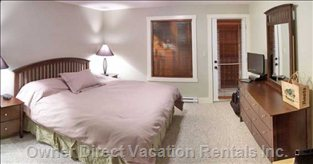 Master Bedroom with King Size Comfort!!!