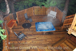 Hot Tub from above