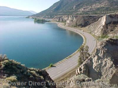 View Coming into Penticton from Summerland
