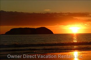 Enjoy the Best Sunsets in the World at Manuel Antonio Beach which is a 8 Min Drive from the House. Pura Vida!