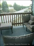 Main Deck off Master Bedroom~Enjoy Fresh Mountain Air