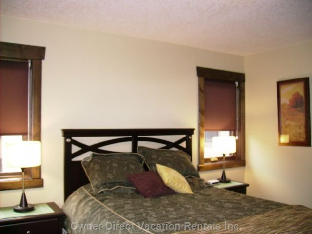 Bedroom #3~Spacious with Extra Windows & Armchair