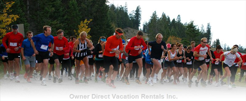 Mountain Trail Runs Scheduled Throughout the Year