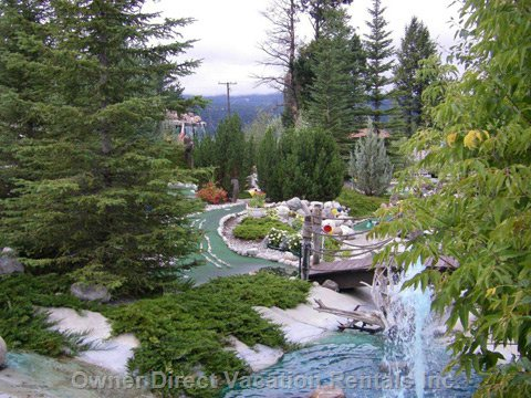 Mini-Golf & more at Copper City Amusement Park, one of many in the Valley