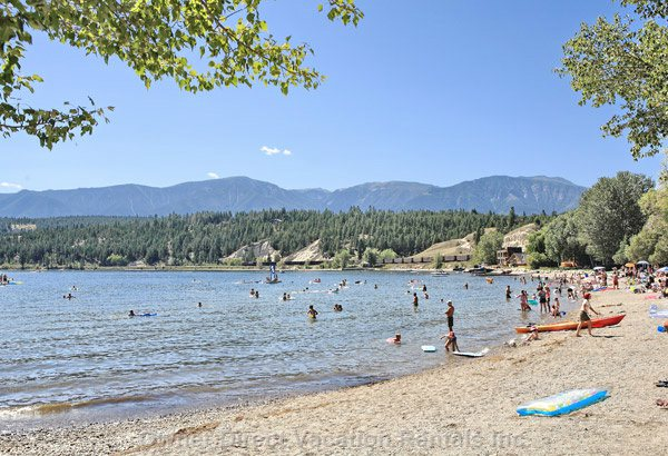 Play at Lake Windermere (Only 15 Min Away), Enjoy Public Beaches/Playgrounds, Marinas, Boat Rentals, Fishing, Soakin' up the Sunshine