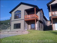Spectacular View Overlooking the Columbia River Valley with Lower Level Walkout.