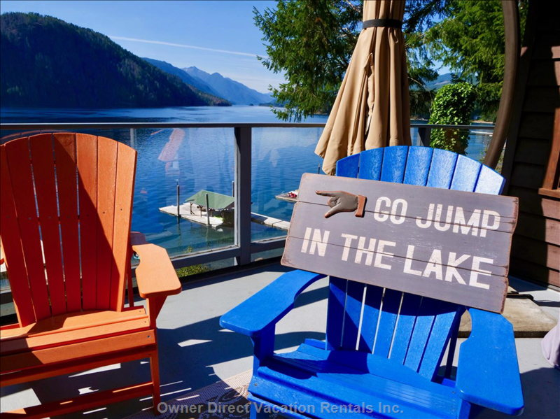 Go Jump in the Lake! - Upper Deck