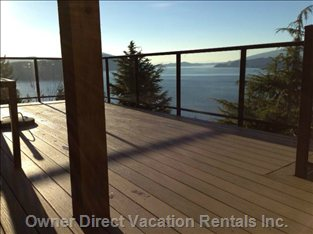 Rebuilt Deck -- Check out the View!