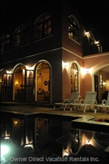 By Night - Ambiance Lighting Indoors and Outdoors Creates a Feeling of Romance and Wonder